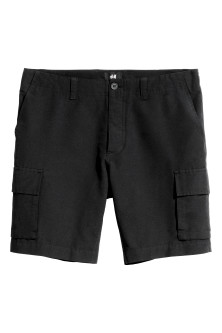 Knee-length shorts